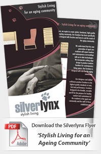 Download the Silverlynx Flyer 'Stylish Living for an Ageing Community'